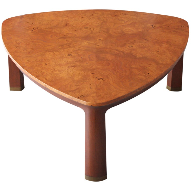 The Triangle Table By Edward Wormley For Dunbar At 1stdibs