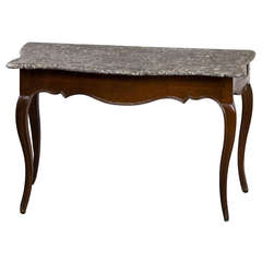 Louis XV Marble Top Console