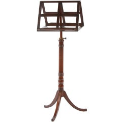 English Regency Duet Music Stand