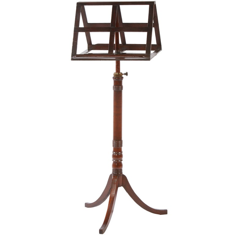 English Regency Duet Music Stand 1