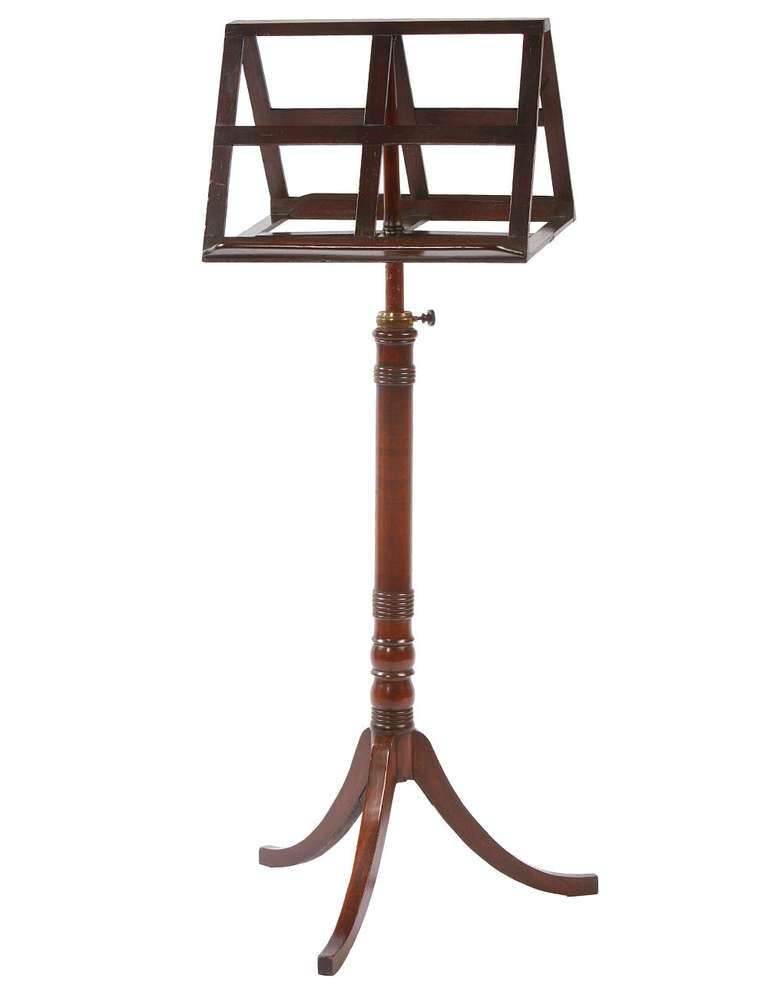 English Regency Duet Music Stand 2