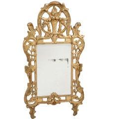 Louis XVI gilt mirror