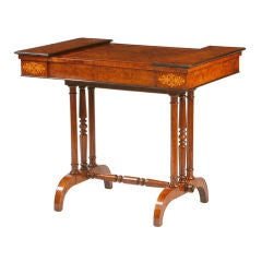 English Regency Game table
