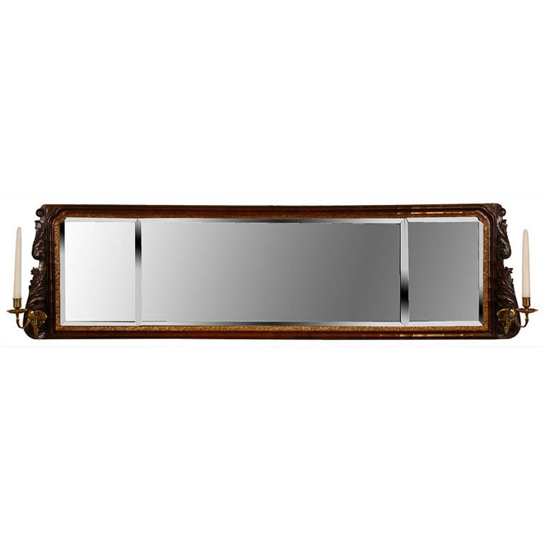 George I Overmantel Mirror