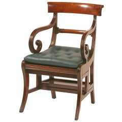 English Regency Metamorphic Armchair