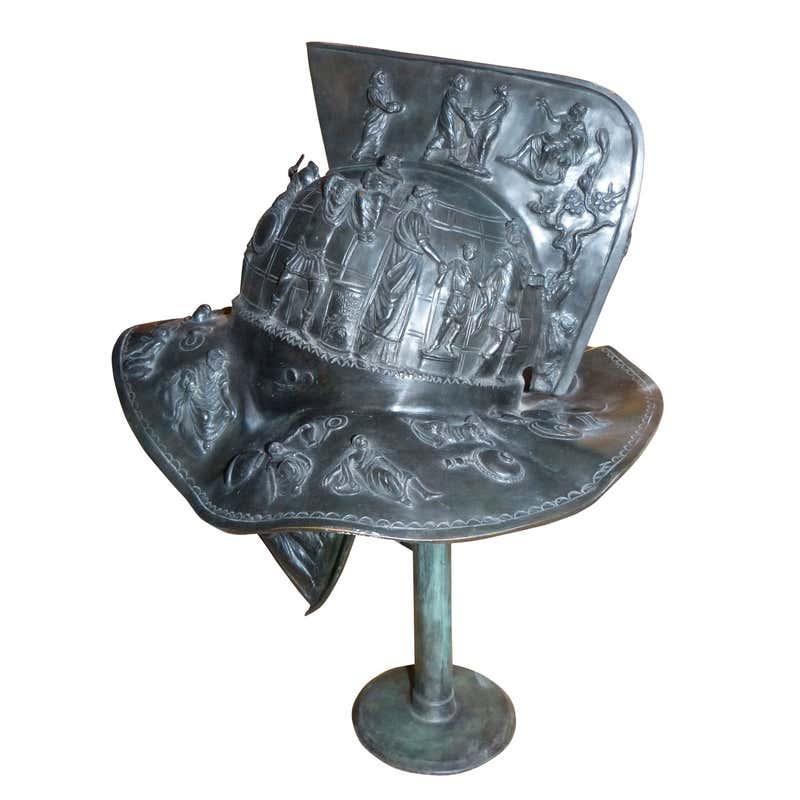 Bronze Thracian Gladiators Helmet For Sale at 1stDibs