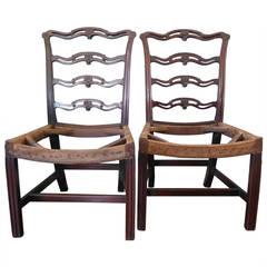 George III Mahogany Chairs