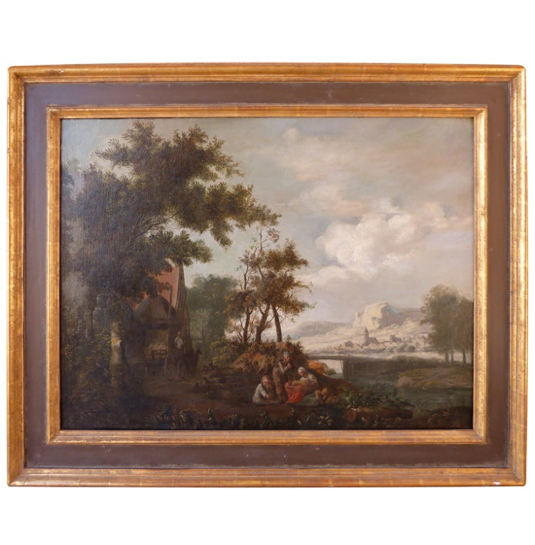 A Good 18th Century Dutch Painting At 1stdibs