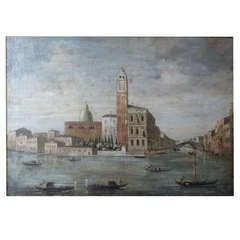Italian Painting View of Venice