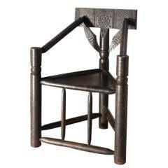 Early English oak Turner's chair