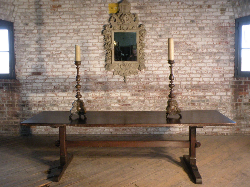 The Quintessential Early English Oak Trestle Table At 1stdibs