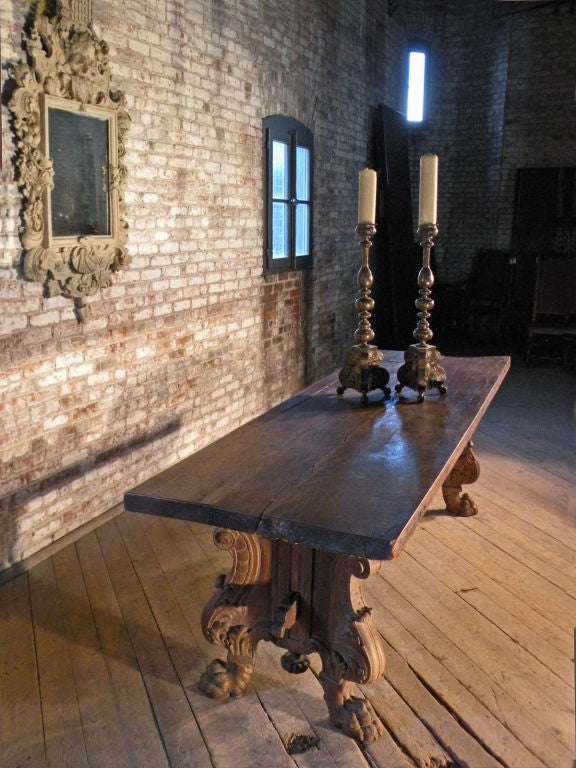Italian Renaissance Style Refectory Table For Sale At 1stdibs