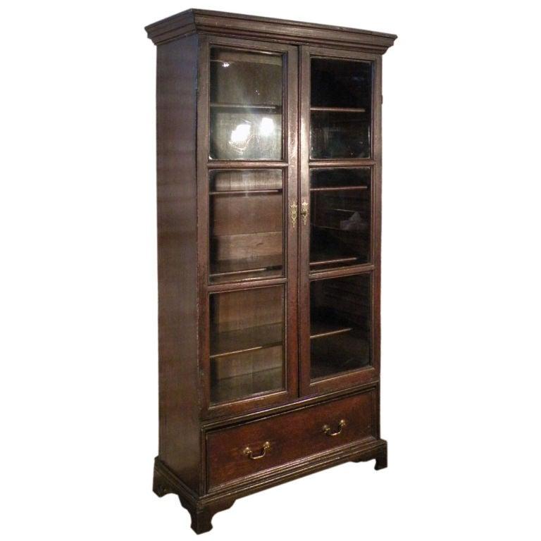 Early English Oak Bookcase