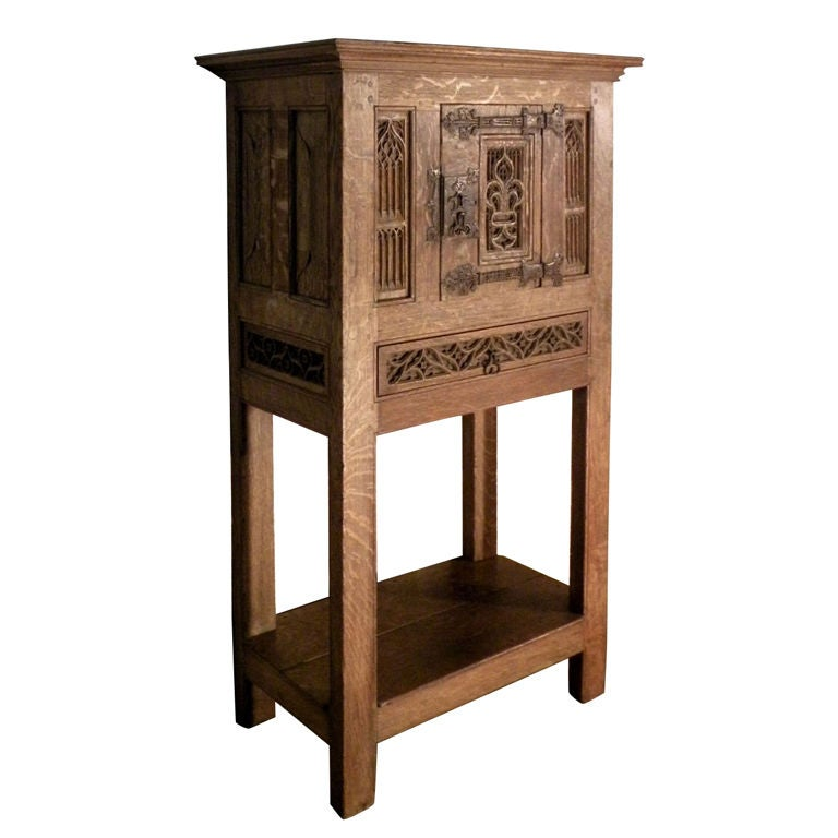 Gothic Freestanding Cabinet For Sale At 1stdibs