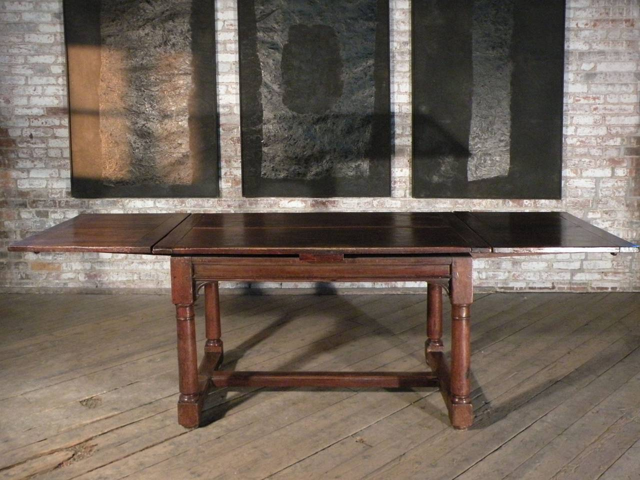 French 16th Century Henry II Walnut Extending Table For Sale 3