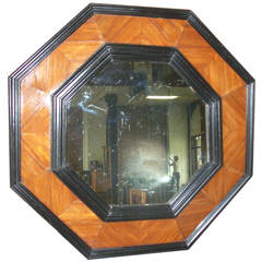 Octagonal 19th century Baroque style Mirror