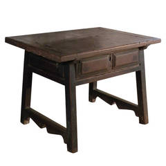 Small, Low Spanish Table