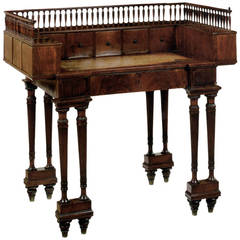 Neoclassical19th century mahogany Writing Table or Desk