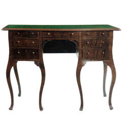 English 18th century George III mahogany Desk