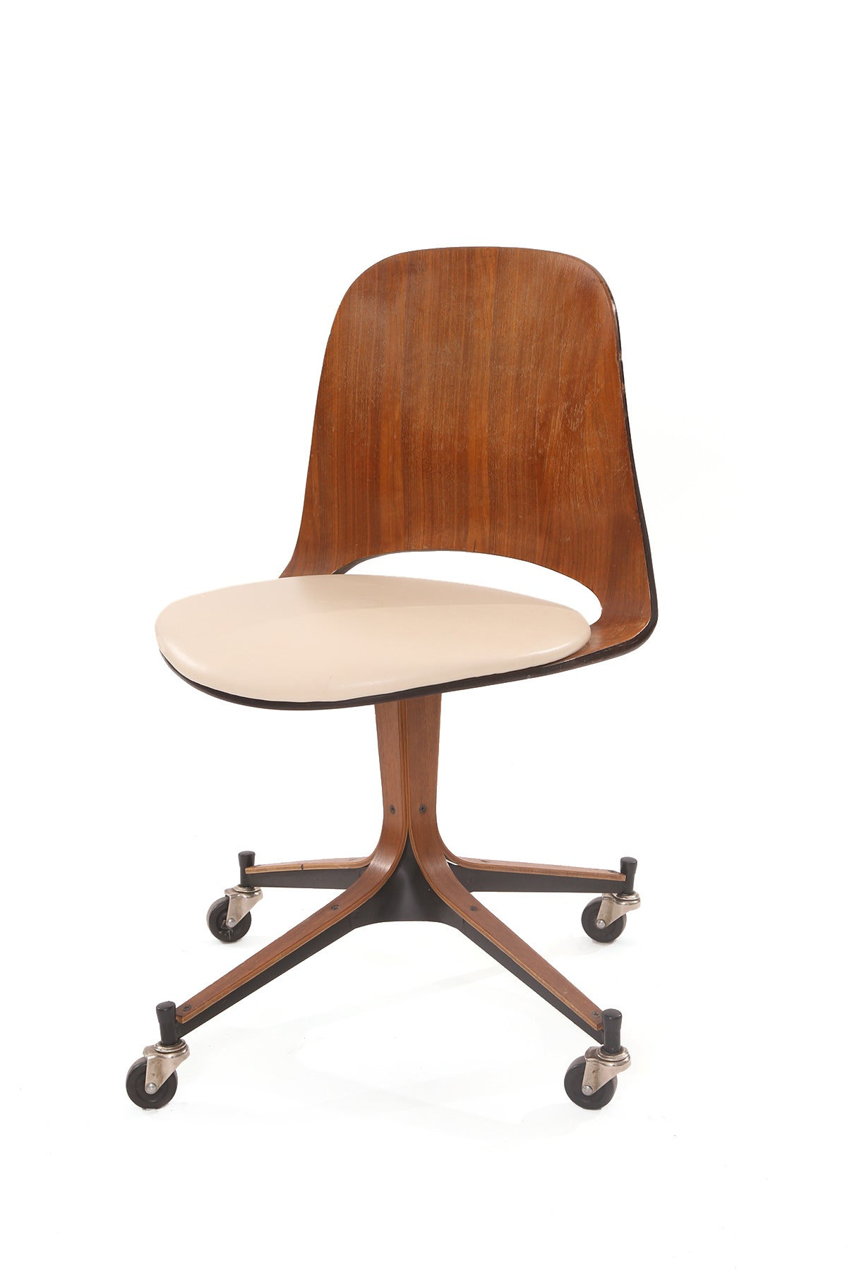 George Mulhauser Plycraft Desk Chair For Sale At 1stdibs