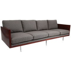 Rosewood Case Sofa by Milo Baughman for Thayer Coggin