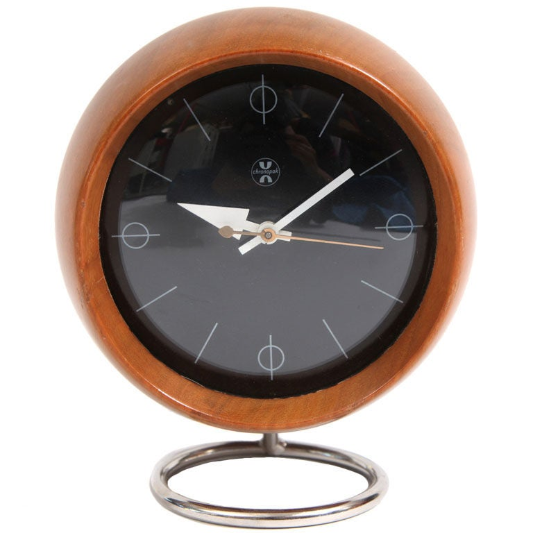 George Nelson Howard Miller Table Clock at 1stdibs