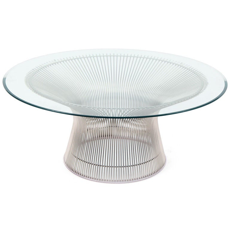 Warren platner knoll cocktail table at 1stdibs for Warren platner coffee table