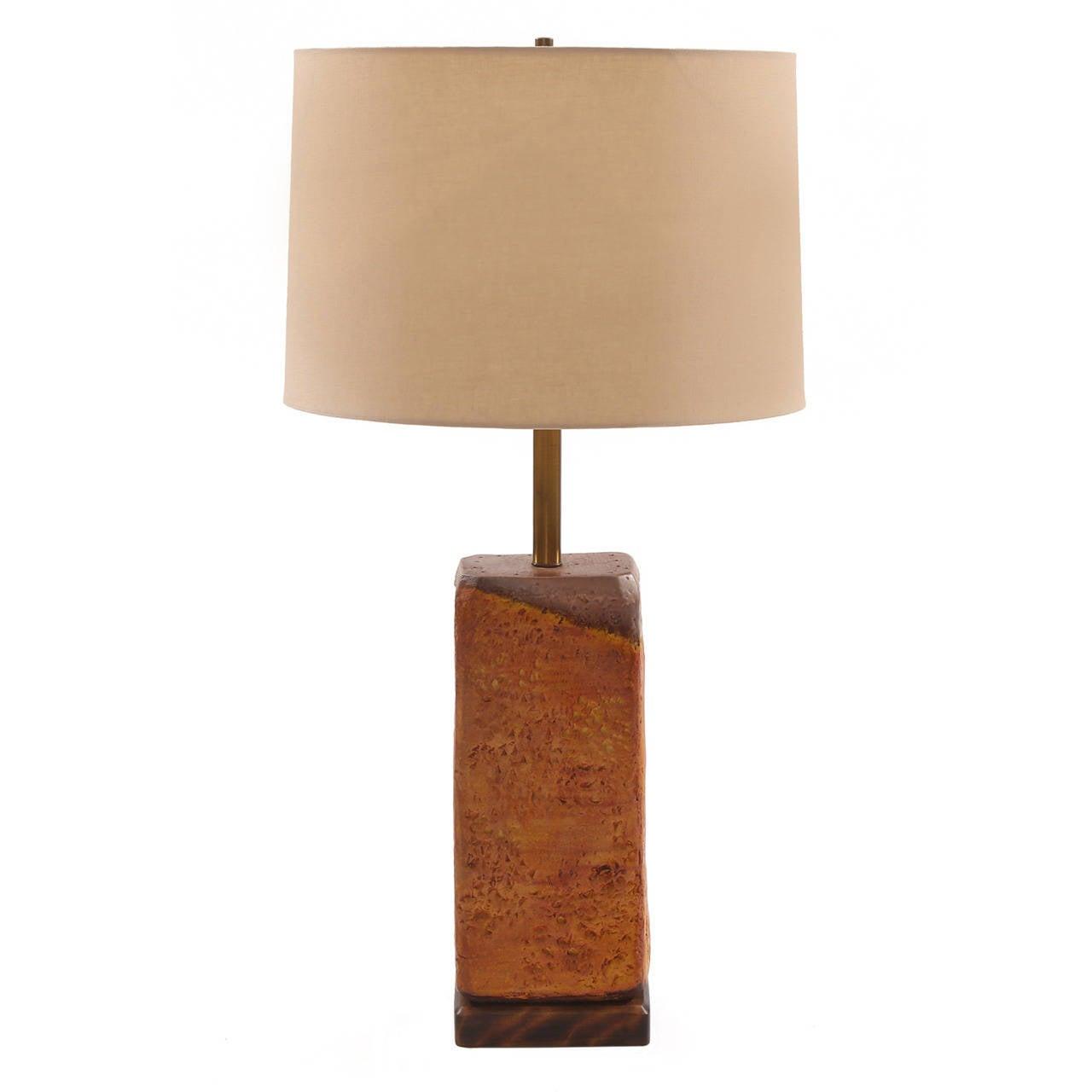 Marcello Fantoni for Raymor Ceramic Lamp