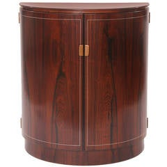 Georg Kofoed Rosewood Pewter and Copper Jewelry or Silverware Chest
