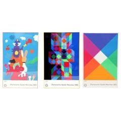 3 Original 1972 Olympic Serigraphs
