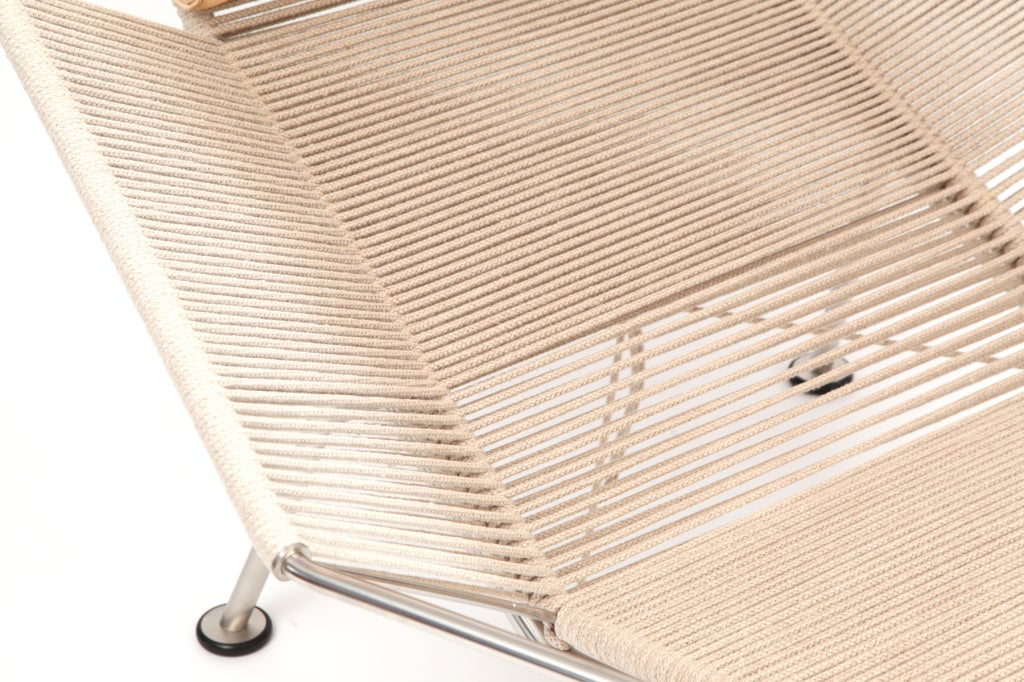 Danish Hans Wegner Flag Halyard Lounge Chair