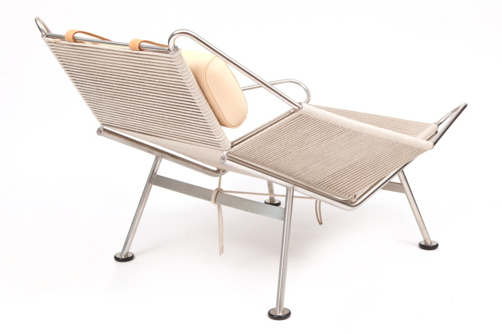 Contemporary Hans Wegner Flag Halyard Lounge Chair