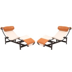 Le Corbusier LC4 Chaise Longues