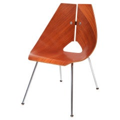 Sculptural Ray Komai Occasional Chair
