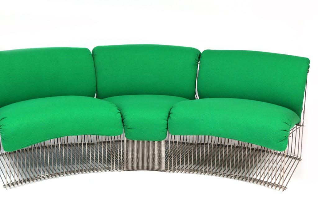 Late 20th Century Rare Verner Panton Pantonova Seating System