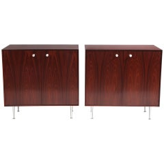 George Nelson Thin Edge Rosewood Chests
