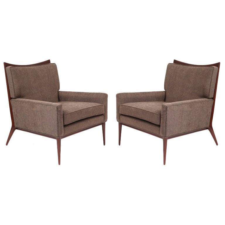 Sculptural Paul Mccobb Lounge Chairs at 1stdibs