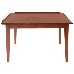 Finn Juhl Oiled Teak Side Table