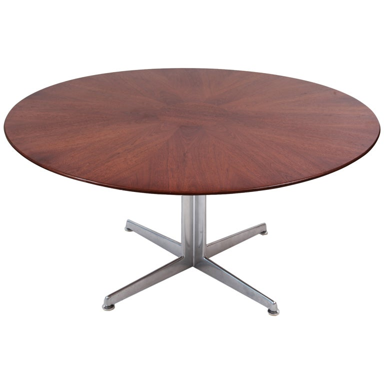 Harvey probber 60 round dining table at 1stdibs for Dining room table 60 inch round