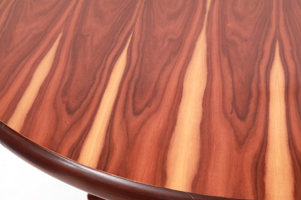 Brazilian Rosewood Dining Table by Sergio Rodrigues In Excellent Condition For Sale In Phoenix, AZ