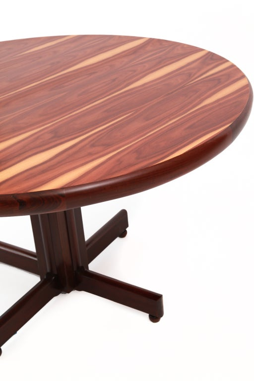 Mid-20th Century Brazilian Rosewood Dining Table by Sergio Rodrigues For Sale
