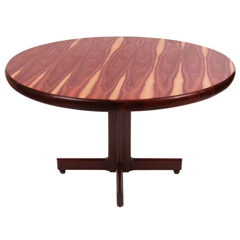 Brazilian Rosewood Dining Table By Sergio Rodrigues 1