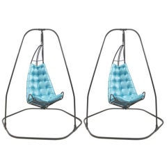 Pair of Fabulous Hanging Chairs