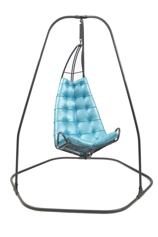 Pair of fabulous hanging chairs at 1stdibs for Ez hang chairs instructions