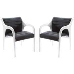 Elegant Occasional Chairs by Claudio Salocchi