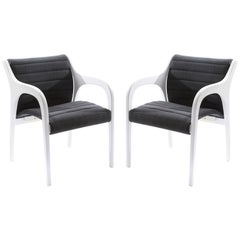 Elegant Occasional Chairs by Claudio Salocchi