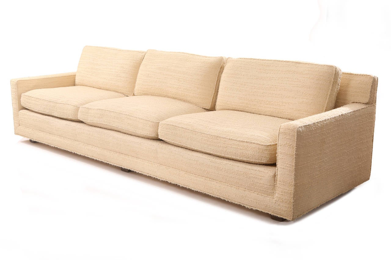 custom ordered sofa by prentice furniture company for sale