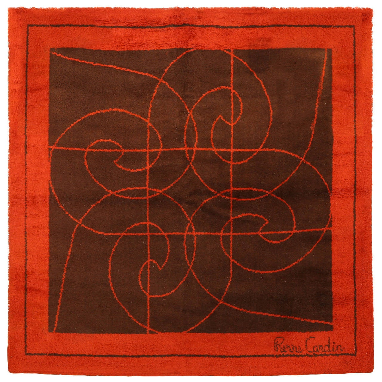 Stunning Pierre Cardin Area Rug For