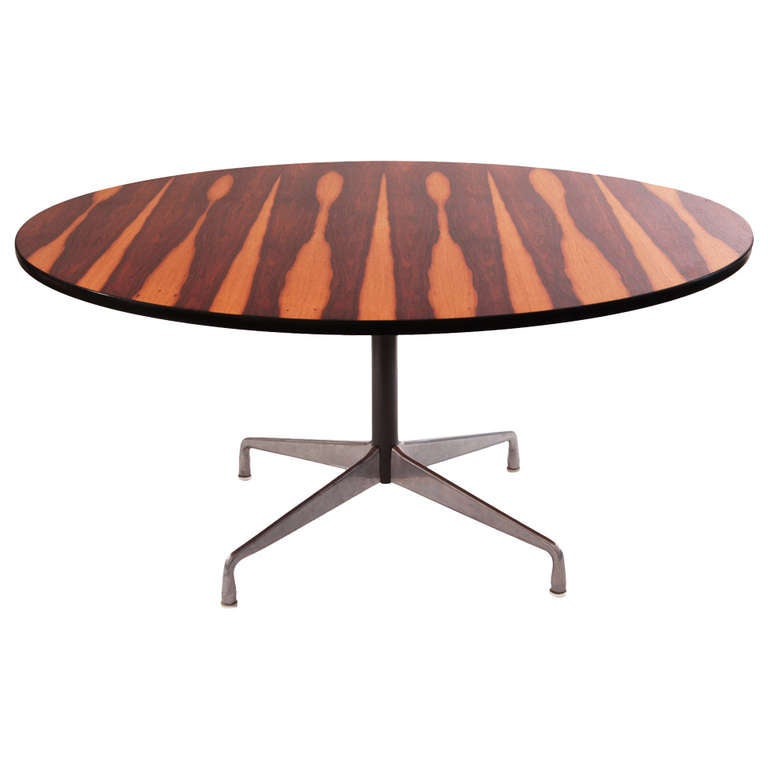 charles and ray eames for herman miller 60 rosewood dining table at 1stdibs. Black Bedroom Furniture Sets. Home Design Ideas