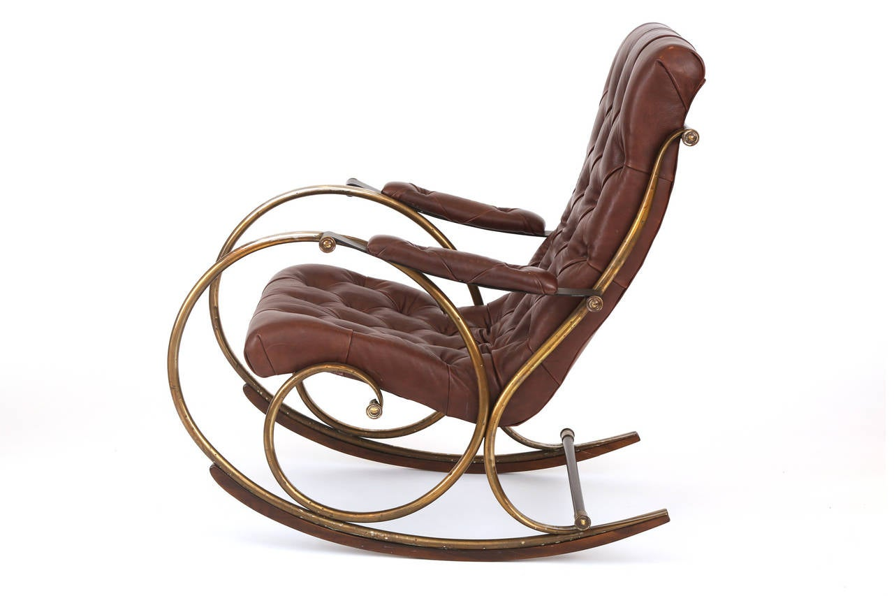And Wood Rocking Chair By Woodard Offered By Red Modern Furniture . Full resolution  pic, nominally Width 1280 Height 853 pixels, pic with #936A38.